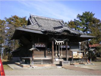 太田市世良田の八坂神社